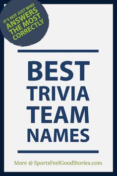 11 Best Trivia team names images in 2018 | Trivia games