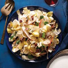 Easy Dinner Salads | Pear and Endive Chopped Salad  | MyRecipes