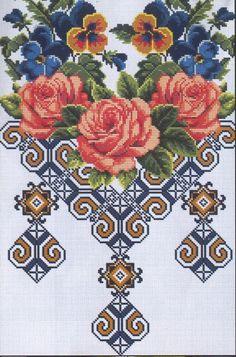 cross stitch pattern kanaviçe şema