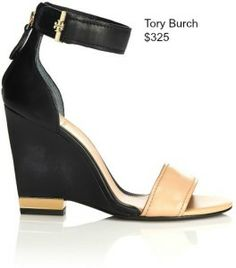 Tory Burch Wedges visit www.protectyourpumps.com/bog for info on where to buy!