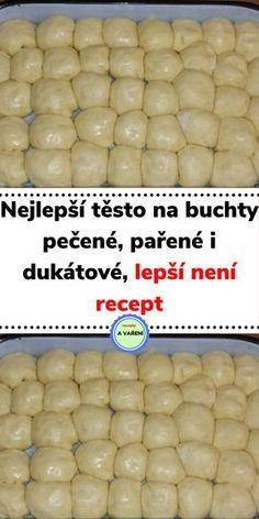 Slovak Recipes, Czech Recipes, How Sweet Eats, Summer Recipes, Ham, Sweet Treats, Deserts, Food And Drink, Cooking Recipes