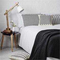 cool On The Sly Aztec Cushion Black