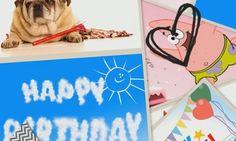Una gran cantidad de tarjetas con las que felicitar el cumpleaños, escucha cumpleaños feliz a la vez que te sorprendes con las imágenes.