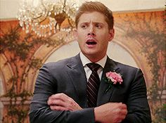 """ Dean's reaction to Sammy getting married """