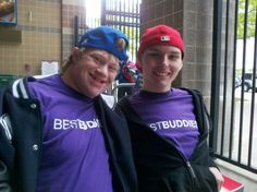 Best Buddies is a charitable partner of the MLSE Team Up Foundation's 50/50 raffle program. The funds raised through 50/50 will assist with their buddy program, and getting them involved in a variety of recreational activities. For a person with an intellectual disability, friendship helps to ease the isolation, disempowerment or loneliness that often deepens the challenges that he or she faces daily.
