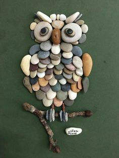Creative Diy Ideas For Pebble Art Crafts! – Do It Yourself Samples Sponsored Sponsored Creative Diy Ideas For Pebble Art Crafts! – Do It Yourself Samples Owl Crafts, Diy And Crafts, Crafts For Kids, Arts And Crafts, Creative Crafts, Creative Ideas, Creative Art, Rock And Pebbles, Stone Crafts