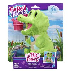 FurReal Friends Lil' Big Paws Snappy the Gator $11.25! - http://couponingforfreebies.com/furreal-friends-lil-big-paws-snappy-gator-11-25/