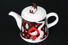 Little Red Riding Hood Tea Pot for Two: http://www.neatoshop.com/product/Little-Red-Riding-Hood-Tea-For-Two-Otogicco-Teapot