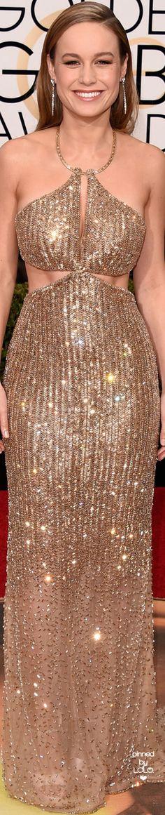 Brie Larson 2016 Golden Globe Red Carpet   LOLO❤︎