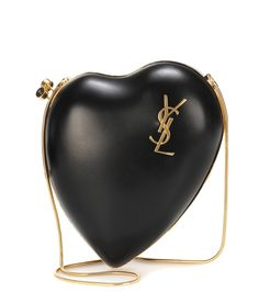 0038c35f3905b Saint Laurent - Love Box leather shoulder bag - Our heart is beating fast  for Saint