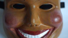 The Purge Film Mask Purge Male Mask Smiling Mask The Purge Anarchy Mask Horror Movie Mask Scary Movie Mask The Purge Halloween Mask