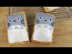How to Make Totoro Poptarts! - YouTube