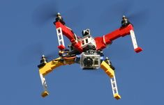 LEGO Drone Kit Capable Of Carrying A GoPro Action Camera (video)