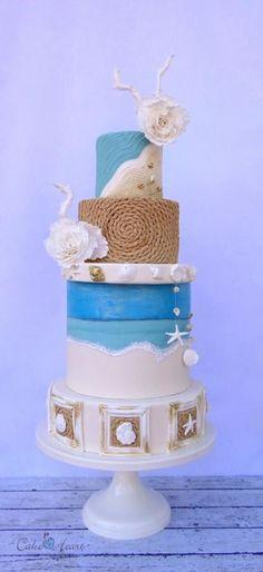 Beach  - Cake by Cake Heart