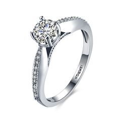18K Platinum Plated Cheap Fashion Jewelry Ring