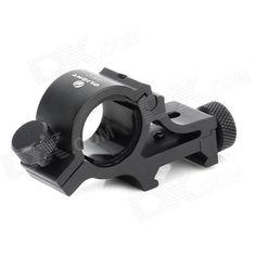 OLIGHT WM10 Aluminum Alloy Gun Mount Holder Clip Clamp for Flashlight - Black (18~23mm) Price: $16.90