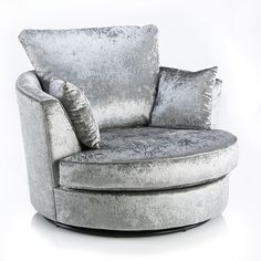 Michigan Velvet Swivel Chair – Next Day Delivery Michigan Velvet Swivel Chair