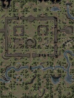 maps map wilderness fantasy dungeon pathfinder