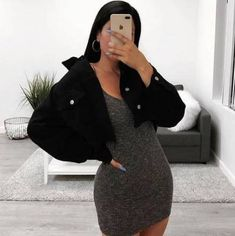 36 Trendy Moda Casual Outfits Ideas Grey Source by ideas trendy Mode Outfits, Girl Outfits, Fashion Outfits, Cute Casual Outfits, Casual Dresses, Formal Outfits, Looks Hip Hop, Vetement Fashion, Mode Streetwear
