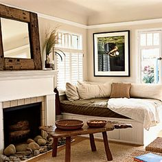 Cottage interior ideas on pinterest interior design pictures country cottages and cottage style - Serene traditional cottage in natural theme ...