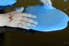Borax-Free Slime or Gak Dough from Fun at Home with Kids