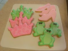 Princess and the Frog Cookies..;0)