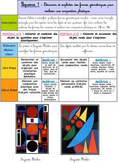 formes géométriques en arts plastiques - Recherche Google