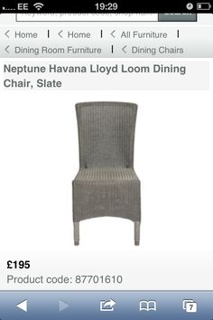 Chairs I have to buy!!