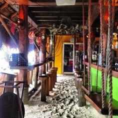 "I love this bar...Rustic, ""La Buena Vida"" in Akumal, Riviera Maya"