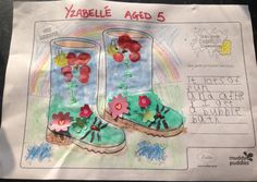 Yzabelle (age 5) Huddersfield, West Yorkshire, England. I like to get muddy because...Yzabelle loves to get muddy as she loves a bubble bath after