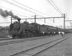 横浜港への列車