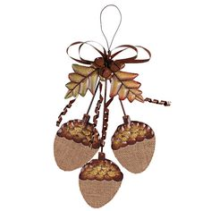 Found it at Wayfair - Full Acorn Cluster Sign Wall Décor