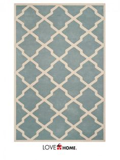 Safavieh Teppich blair tufted rug blue 9 x12 casa