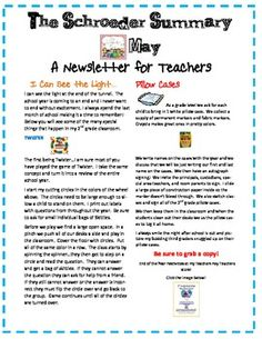 This is a 3 page FREE download of Teaching resources for the month of May!  It is filled with end of the year activities to send your kiddos off wi...