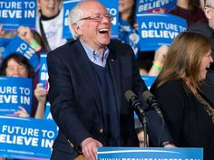 Bernie Sanders has become the most popular politician in America — with no help from the inside // Democrats appear to be struggling to cope with their election loss in November, but Bernie continues to resonate VIDEO