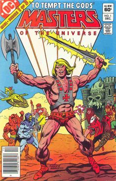 Masters OF The Universe #1, December 1982, cover by George Tuska and Dick Giordano