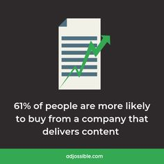 Content marketing campaigns have become essential for marketers to engage audiences and generate leads. In fact, more than half of all consumers are more likely to buy from companies that create custom content.🤝 #leadgeneration #contentmarketing #onlineadvertising