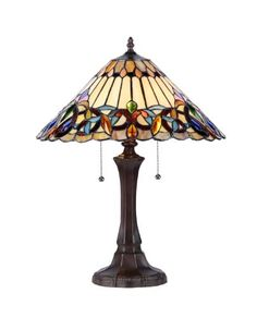 Chloe Lighting CH33318VI16TL2 Ambrose TiffanyStyle Victorian 2Light Table Lamp with 16Inch Shade *** Want to know more, click on the image-affiliate link. #HomeImprovement SALE