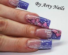 arty nails by ArtyNails - Nail Art Gallery nailartgallery.nailsmag.com by Nails Magazine www.nailsmag.com #nailart