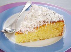 Rendimento: 10 Dificuldade: fácil Ingredientes: 100g de coco ralado 1 lata de leite condensado 3 ovos 1 colher (sopa) de fermento em pó Margarina e farinha