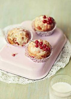 Marjamurumuffinit Panna Cotta, Cheesecake, Muffin, Pudding, Cupcakes, Baking, Breakfast, Koti, Ethnic Recipes