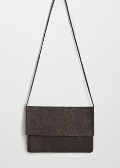 Leather metallic bag