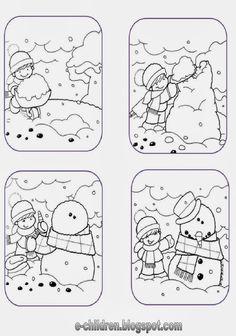 logische volgorde Sequencing Pictures, Story Sequencing, Sequencing Activities, Preschool Activities, Classroom Helpers, Sequence Of Events, Picture Story, Preschool Kindergarten, Summer Crafts