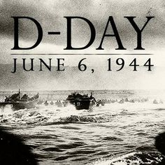On this day 6th June, 1944 The Battle of Normandy began. D-Day, code named Operation Overlord, commenced with the landing of 155,000 Allied troops on the beaches of Normandy in France to liberate Western Europe from German occupation. The allied soldiers quickly broke through the Atlantic Wall and pushed inland in the larges amphibious military operation in history. We will always remember them
