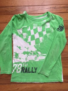 Check out this listing on Kidizen: Crew Cuts Lime Green Long Sleeve T-Shirt via @kidizen #shopkidizen