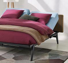 auping auronde bed 1000 1500 of 2000 kleur wit auping. Black Bedroom Furniture Sets. Home Design Ideas