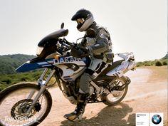 BMW F650GS Dakar.