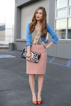 Great office outfit! M Loves M