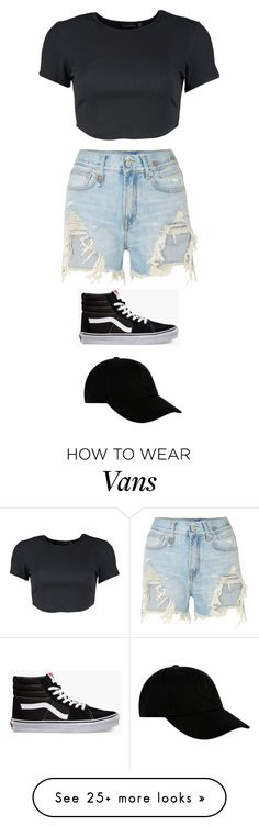 """Untitled #5893"" by twerkinonmaz on Polyvore featuring Boohoo, R13, Vans and STONE ISLAND"
