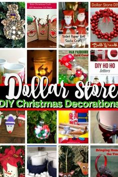 Easy Christmas Crafts {Dollar Store!}